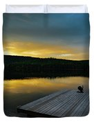 Evening Stillness Duvet Cover