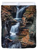 Every Teardrop Is A Waterfall Duvet Cover