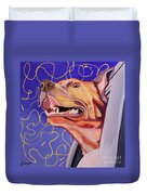 Facing The Wind Duvet Cover