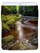 Fairy Glen Gorge Duvet Cover