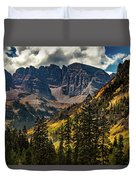 Fall At Maroon Bells Duvet Cover
