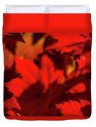 Fall Coffee Mug Duvet Cover