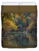 Fall In Arkansas Duvet Cover