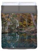 Fall In The Ozarks Duvet Cover
