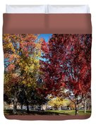 Fall In Wenatchee Duvet Cover