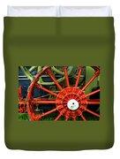 Fancy Tractor Wheel Duvet Cover