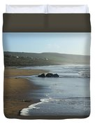 Fanore Beach Clare Duvet Cover