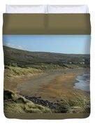 Fanore Beach The Burren Duvet Cover