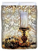 Fantasy Candle Duvet Cover