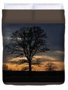 Farm Country Sunset Duvet Cover