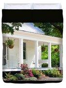 Farmhouse At Mcdaniel Farm Park Duvet Cover