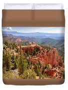 Farview Point - Bryce Canyon - Utah Duvet Cover