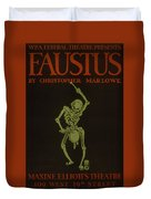 Faustus Duvet Cover