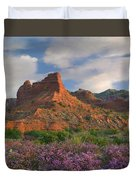 Feather Dalea, Caprock Canyons State Duvet Cover