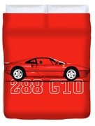Ferrari 288 Gto Duvet Cover