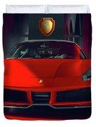 Ferrari Red Duvet Cover