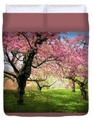 Cherry Orchard Afternoon Duvet Cover