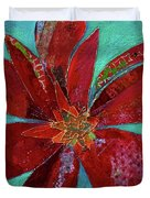 Fiery Bromeliad I Duvet Cover