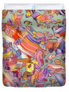 Fiesta Duvet Cover by James W Johnson