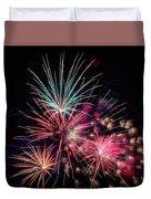 Fireworks 2019 One Duvet Cover