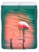 Flamingo Art Duvet Cover