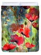 Floral Abracadabra Duvet Cover