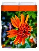 Floral Rush Hour Duvet Cover