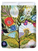 Flower Tree I    Duvet Cover