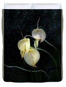 Flowerography Duvet Cover