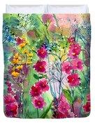 Flowery Fairy Tales Duvet Cover