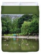Flying Geese Duvet Cover