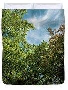 Folhas De Outubro Duvet Cover