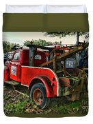 Ford F4 Tow The Truck Business End Duvet Cover