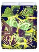 Forest Flutters Duvet Cover