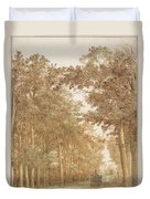 Forest Road Wi  Duvet Cover