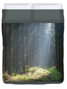 Forrest And Sun Duvet Cover