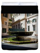 Fountain Square St. Eustace Duvet Cover