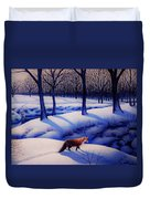 Fox Hunt Creek Duvet Cover