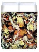 Fractured Viewpoint Duvet Cover