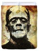 Frankenstein's Notebooks Duvet Cover