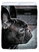 Frenchie Duvet Cover by Susan Maxwell Schmidt