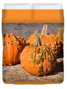 Fresh Butternut Pumpkins Duvet Cover