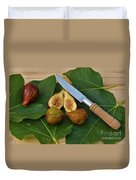 Fresh Figs Duvet Cover