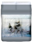 Frost From Canada Duvet Cover