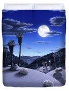 Full Moon Rising Duvet Cover