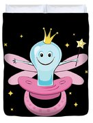 Fun Pacifier Fairy Tshirt For Girls To Get Rid Of Pacifiers Duvet Cover