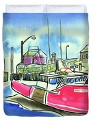Fundy Tide Hall's Harbour Duvet Cover
