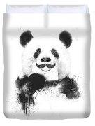 Funny Panda Duvet Cover