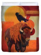 Fur And Feathers Duvet Cover