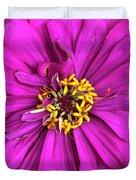 Fuschia Bloom Duvet Cover